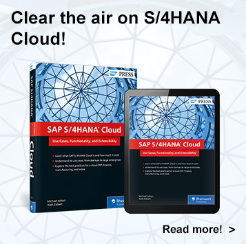 SAP S/4HANA Cloud | SAP PRESS Book and E-Book