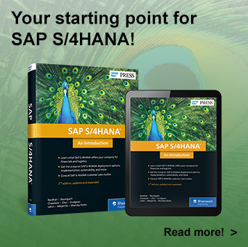 SAP S/4HANA: An Introduction l SAP PRESS Books and E-books