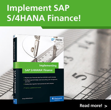 Implementing SAP S/4HANA Finance | SAP PRESS Books and E-Books