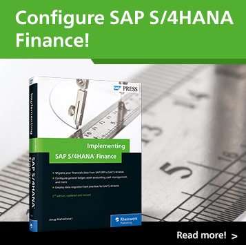 Implementing SAP S/4HANA Finance | SAP PRESS Books and E-Books