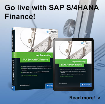 Implementing SAP S/4HANA Finance l SAP PRESS Book and E-books