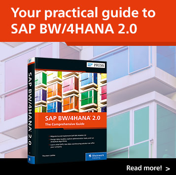 SAP BW/4HANA: The Comprehensive Guide   SAP PRESS Books and E-Books