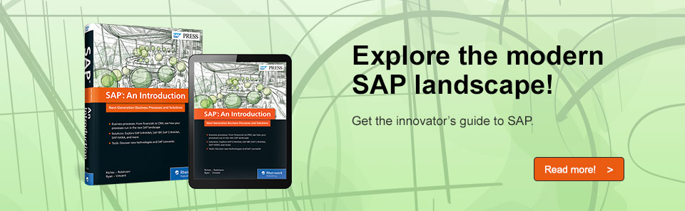 New SAP Solutions