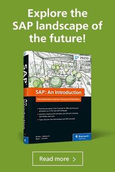 New SAP Solutions: An Introduction l SAP PRESS Books and E-Books