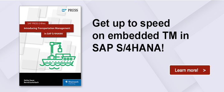 SAP TM in S/4HANA