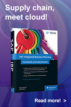 SAP IBP (Integrated Business Planning) l SAP PRESS Books and E-books