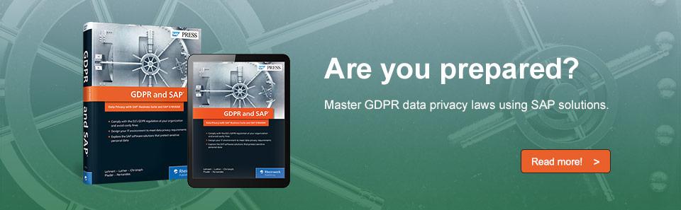 GDPR & SAP