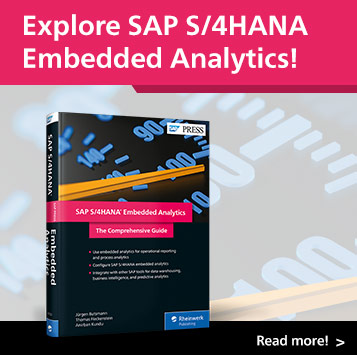 SAP S/4HANA Embedded Analytics | SAP PRESS Books and E-Books