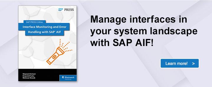 SAP AIF