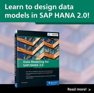 Data Modeling for SAP HANA 2.0 | SAP PRESS Books and E-Books
