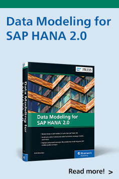 Data Modeling for SAP HANA 2.0 | SAP PRESS Books and E-Books