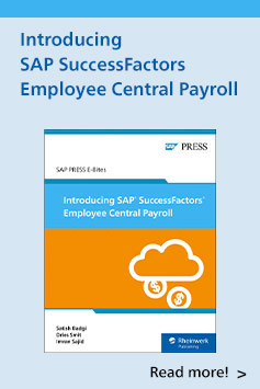 Introducing SAP SuccessFactors Employee Central Payroll | SAP PRESS Books and E-books
