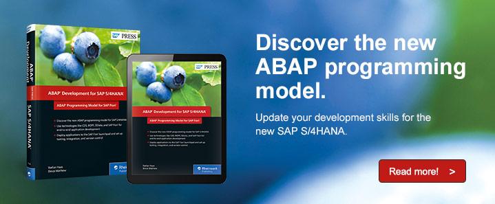 ABAP for S/4HANA