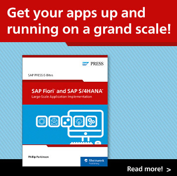 SAP Fiori and SAP S/4HANA: Large-Scale Application | SAP PRESS Books and E-Books