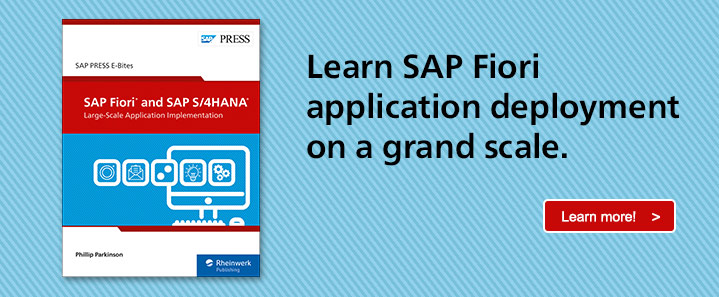 SAP Fiori apps