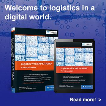 Logistics with SAP S/4HANA | SAP PRESS Books and E-Books