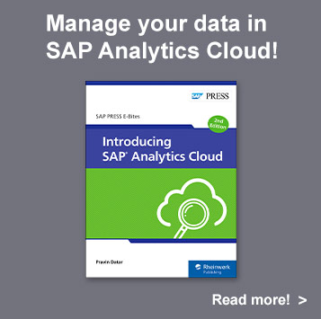 Introducing SAP Analytics Cloud l SAP PRESS Books and E-Books