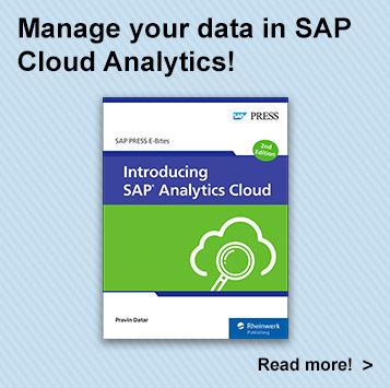 Introducing SAP Analytics Cloud l SAP PRESS Books and E-Books