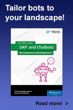 SAP and Chatbots l SAP PRESS Books and E-Books