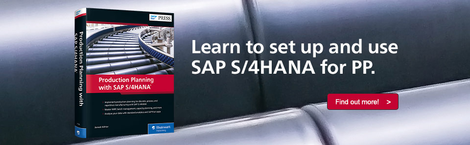 PP with SAP S/4HANA