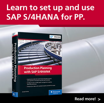 Production Planning with SAP S/4HANA | SAP PRESS Books and E-Books