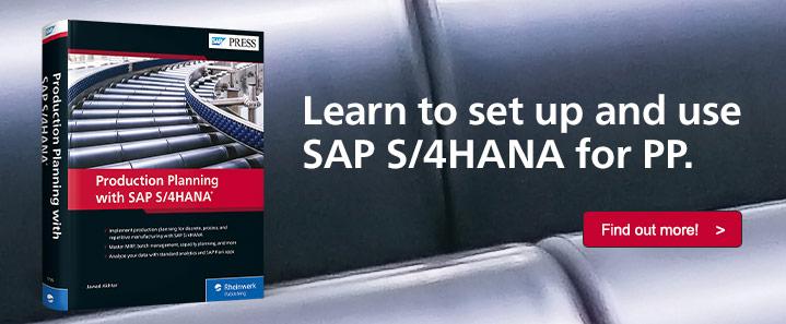 PP with SAP S/4HANA