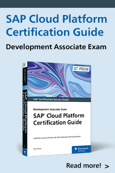 SAP Cloud Platform Certification Guide | SAP PRESS Books and E-Books