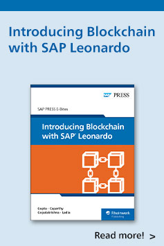 Introducing Blockchain with SAP Leonardo | SAP PRESS Books and E-Books
