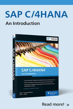 SAP C/4HANA: An Introduction | SAP PRESS Books and E-Books