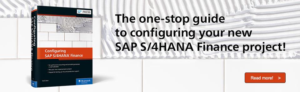 Configure SAP S/4HANA Finance