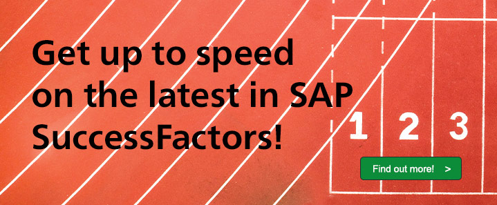 SAP SuccessFactors Intro