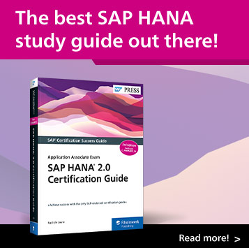 SAP HANA 2.0 Certification Guide: Application Associate Exam | SAP PRESS Books and E-Books