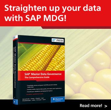 SAP PRESS Master Data Governance | SAP PRESS Books and E-Books