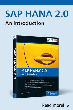 SAP HANA 2.0: An Introduction | SAP PRESS Books and E-Books