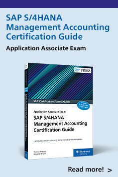 SAP S/4HANA Management Accounting Certification Guide | SAP PRESS Books and E-Books