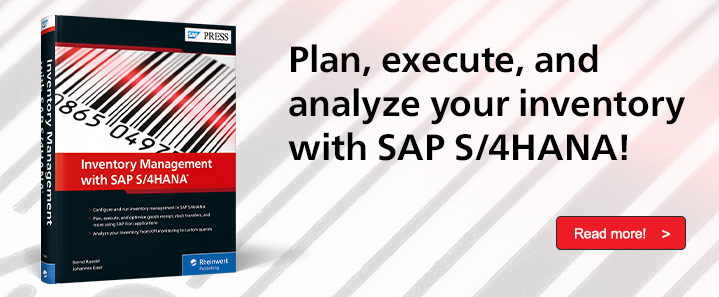 Inventory Management with SAP S/4HANA