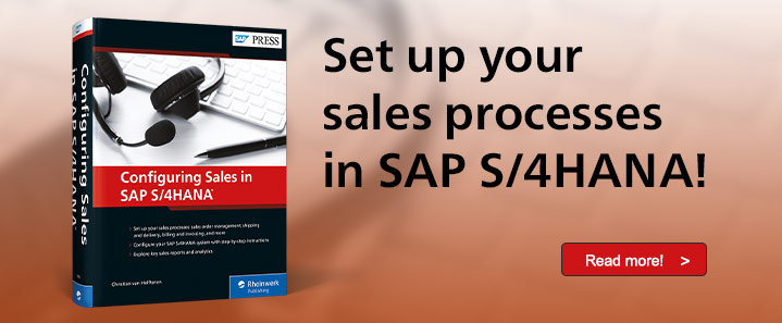 SAP S/4HANA Sales