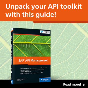 SAP API Management | SAP PRESS Books and E-Books
