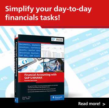Financial Accounting with SAP S/4HANA: Business User Guide | SAP PRESS Books and E-Books
