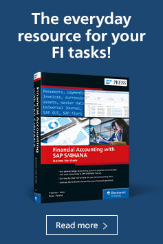 Financial Accounting with SAP S/4HANA: Business User Guide | SAP PRESS Books and E-Bites