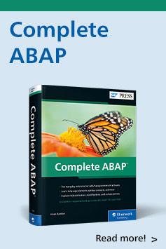 Complete ABAP   SAP PRESS Books and E-Books
