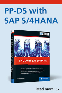 PP-DS with SAP S/4HANA | SAP PRESS Books and E-Books