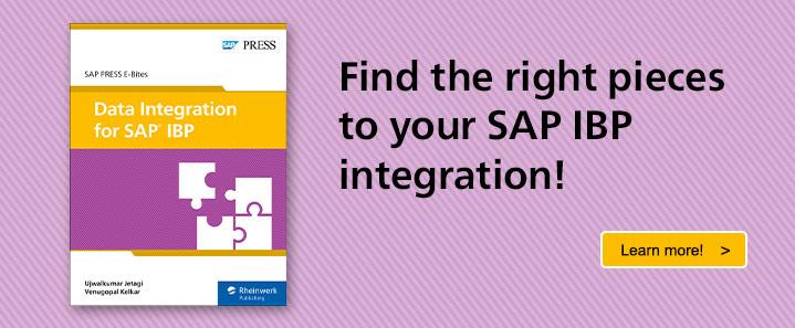 Integrate SAP IBP