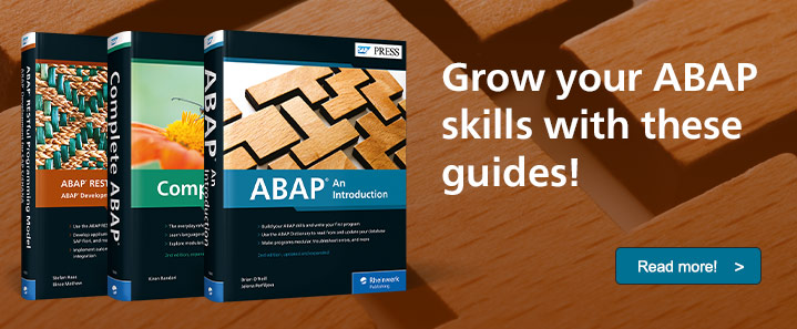 New ABAP Books