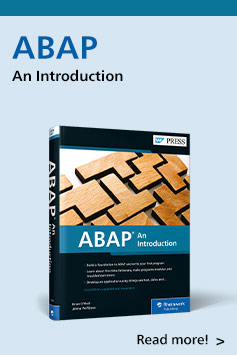 ABAP: An Introduction | SAP PRESS Books and E-Books
