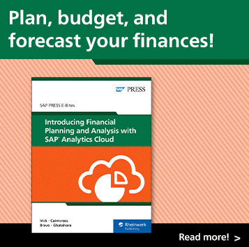 Introducing Financial Planning and Analysis with SAP Analytics Cloud | SAP PRESS Books and E-Books