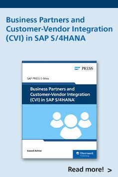 Business Partners and Customer-Vendor Integration (CVI) in SAP S/4HANA | SAP PRESS Books and E-Books