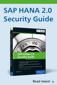 SAP HANA 2.0 Security Guide | SAP PRESS Books and E-Books