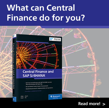 Central Finance and SAP S/4HANA | SAP PRESS Books and E-books