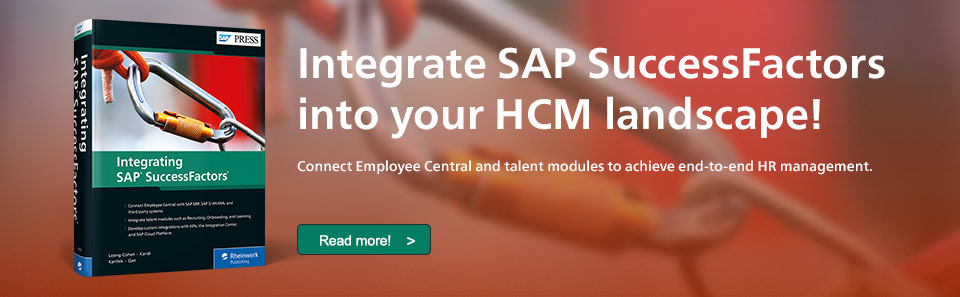 Integrate SAP SuccessFactors